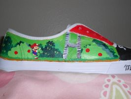 Super Mario Shoes pic. 2 by Sagojyousartpage