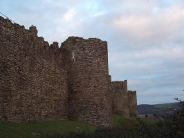 Town walls Conwy by buttercupminiatures