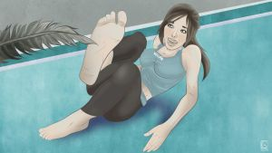 Tickle Torture for the Wii Fit Trainer by jackcrowder