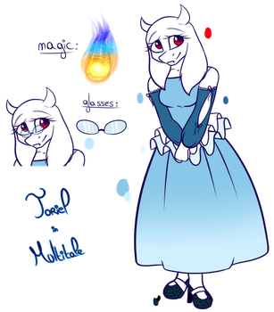 Toriel - Multitale by AkiraChan047