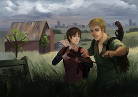 Eren AU - The Last Of US by Reikoni