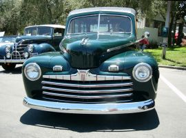 1946 Ford Woody Wagon from the non-wood end by RoadTripDog