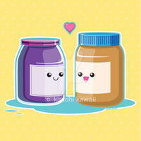 Peanut Butter and Jelly by kimchikawaii