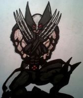 X-Force Wolverine by dark-es-will