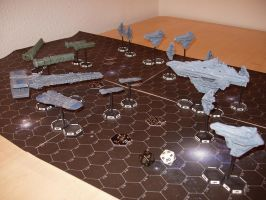 Galactic Conquest Miniatures by msgamedevelopment