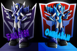 TF OC: OmegaSam and Fallstar by OmegaSam7890