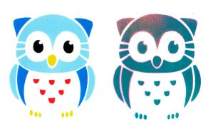 Stencils Owls by EarthEvolution