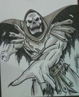 Skelly con sketch by ChrisFaccone