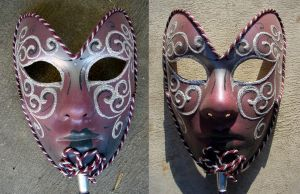 Kat Stock 330 -Venitian Mask 2 by Kaitrosebd-Stock