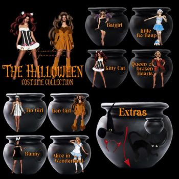 Halloween Costume Collection by Dolphins-Dream