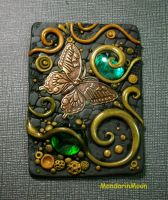 Olive Garden ACEO with Butterfly by MandarinMoon