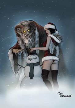 Krampus Christmas by ted1air