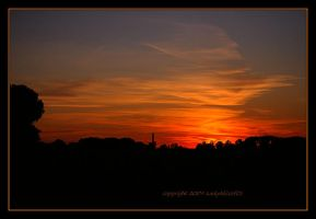 Sundown over Parkville, MO... by LadyAliceofOz