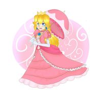 Princess Peach by Looji