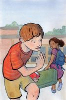 Maniac Magee Book Cover by hanerethund