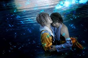 Tidus and Yuna : Isn't It Wonderful? by SakuMiyuku