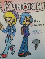 Kunoichi Bios: Nicki by streak663