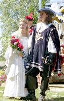 Constance and D'Artagnan 2004 by mistresskristinphoto