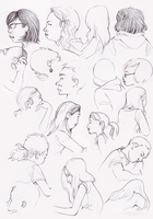 life drawings by Gwnne