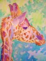 Mind Altering Giraffe by DreamsOfDownfall