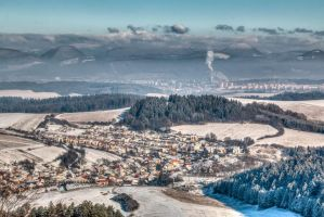 Lietava and Zilina in background by Richie181