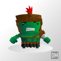 Planet Hulk by DanielMead