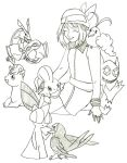 May and pokemons by TantyoNishikigoi