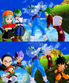 My DB Fusions Teams by Rubidium91