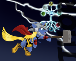 Ponified Avengers: Thor Single by Creepy99