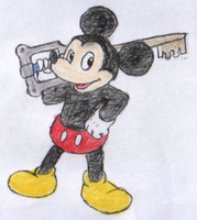 Mickey Mouse by Gaiash