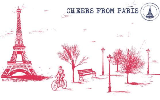 Cheers from Paris by natalia-factory