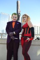 Joker and Harley by ContessaofChaos