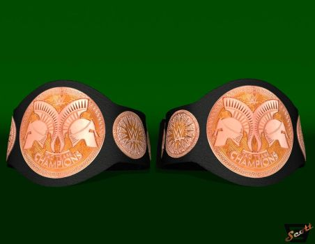 WWE Tag Team Championships by ImfamousE