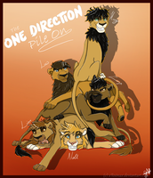 The One Direction Pile On by Thealess