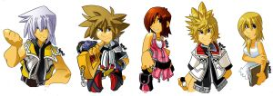 Kingdom Heart Kiddies by herms85