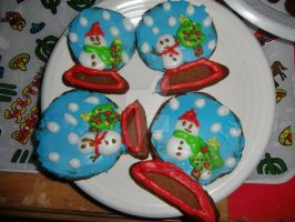 Snowglobe Cookies 2011 by Kinetic-Passion