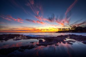 Shaw's Cove Sunset HDR by LifeCapturedPhoto
