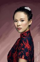 A Portrait of a Chinese Girl by Fdjohan19
