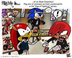 COMMISH MiGHTY is at AnimeCon by theEyZmaster