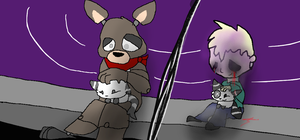 Joey and Sammy,le again c: by Moracalle