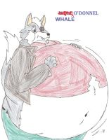 Whale O'Donnel by MercurytheWereWulff
