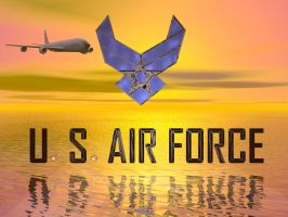 U.S. Air Force Sunset by TanKCR