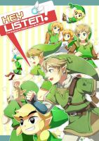 loz Doujinshi cover art by muse-kr
