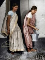Saree and a bucket by VelkokneznaMaria