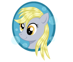 Derpy Keychain Revised by BuckingAwesomeArt