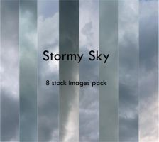 Stormy Sky Pack by MrsCullenStock