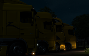 [ETS2] Night stop by RomsnMan