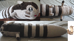 Furret Plush by Diffeomorphism