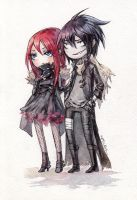 Chibi Alvis and Ran by Kutty-Sark
