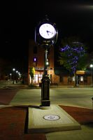 The Clock -At night- by DonLeo85